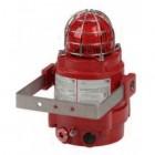 Vimpex Explosion Proof Aluminium LED Status Light and Beacon in Red (BEXBGL2DPDC024)