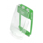 Vimpex SG-F-G Smart+Guard Flush Call Point Cover No Sounder (GREEN)