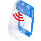 Vimpex SG-FS-B Smart+Guard Flush Call Point Cover with Sounder (BLUE)
