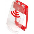 Vimpex SG-FS-R Smart+Guard Flush Call Point Cover with Sounder (RED)