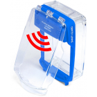 Vimpex SG-SS-B Smart+Guard Surface Call Point Cover with Sounder (BLUE)