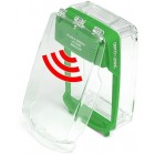 Vimpex SG-SS-G Smart+Guard Surface Call Point Cover with Sounder (GREEN)