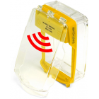 Vimpex SG-SS-Y Smart+Guard Surface Call Point Cover with Sounder (YELLOW)