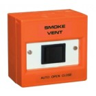Haes Smoke Vent 3-Position Orange Rocker Switch WA9203-AOV