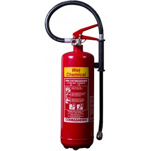 3 Litre Commander Wet Chemical Extinguisher - WCEX3
