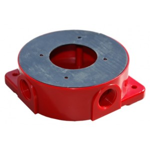 WS2-WPK Wall Sounder Weather Proofing Kit in Red (IP65)