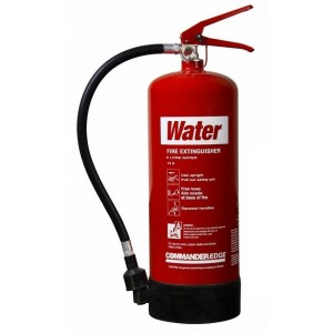9 Litre Water Extinguisher CommanderEDGE – WS9E