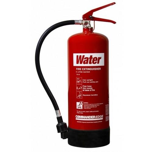 9 Litre Water Extinguisher CommanderEDGE WS9E