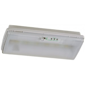 X-RSL Maintained Slimline LED IP42 Bulkhead with Self-Test (6 LED's)
