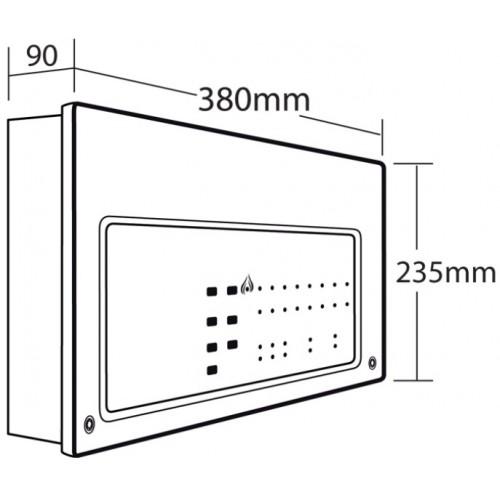 C X Xfp Addressable Single Loop 16 Zone Panel