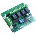 C-Tec Addressable ZFP 4 Relay PCB (Half Size)
