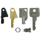 Ziton ZP3-KEY Replacement 4-Key Pack for ZP3 Panel