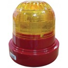 Ziton ZR455V-3RA Wireless Red Sounder with Amber Beacon