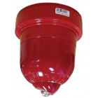 Ziton ZRW460-3C Wireless Beacon with Battery Pack Wall Mount Red Body White Flash