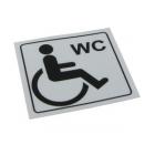 Zeta DPTA-S Disabled Toilet Sticker