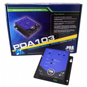 C-Tec PDA103C Wall Mounting Counter Hearing Loop Kit (1.2m2)