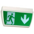 X-ESP LED 230v Mains Weatherproof Double Sided Exit Sign